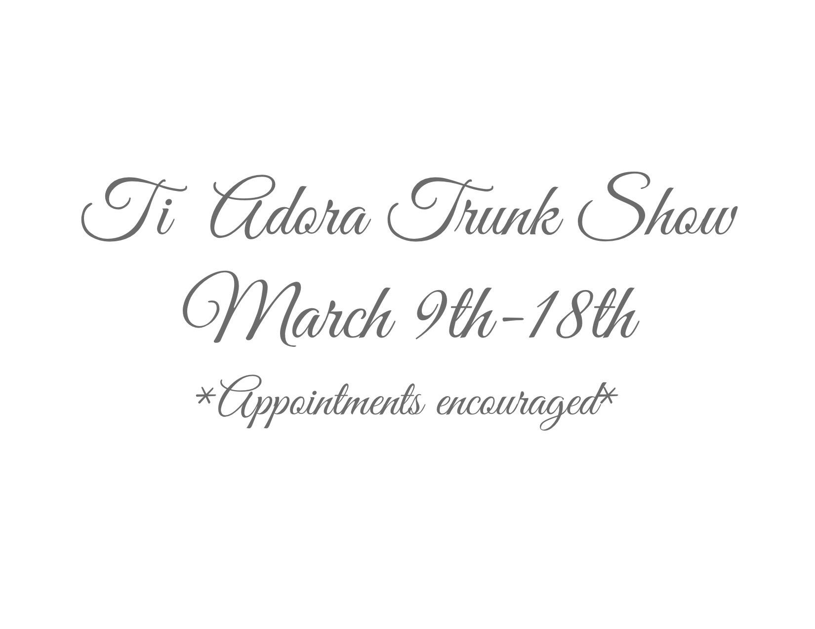 trunkshow website